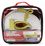 1' X 15' 7500 LB RECOVERY STRAP WITH STORAGE BAG, Manufacturer: ERICKSON,...