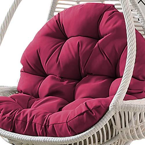 Ganmaov Schaukel hängenden Korb Sitz Sofa Kissenbezüge, Large Size verdicken Hängesessel Auflage für Heim (Nur Kissen)