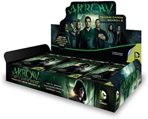 Unbekannt ARROW SEASON 2 TRADING CARDS HOBBY SEALED BOX by Trading Cards