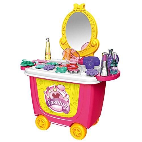 Cute colorido niños simulación de la barbacoa helado tienda aparador carro fingir juguete juego de rol PLAYSET juego de juguete