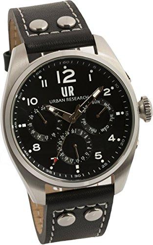 [アーバンリサーチ] 腕時計 UR002-01 メンズ ブラック