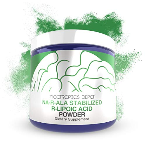 NA-R-ALA Stabilized R-Lipoic Acid Powder 30 Grams | Supports Mitochondrial Activity | Promotes a Healthy Metabolism