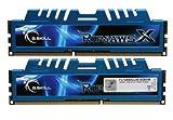 G.SKILL Ripjaws X Series 8GB (2 x 4GB) 240-Pin DDR3 SDRAM DDR3 1600 (PC3 12800) Low Voltage Desktop Memory Model F3-12800CL9D-8GBXM