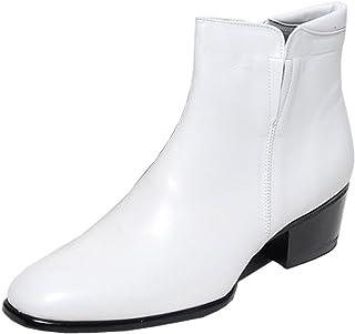 60b7e470e3408 Amazon.com: White - Chelsea / Boots: Clothing, Shoes & Jewelry