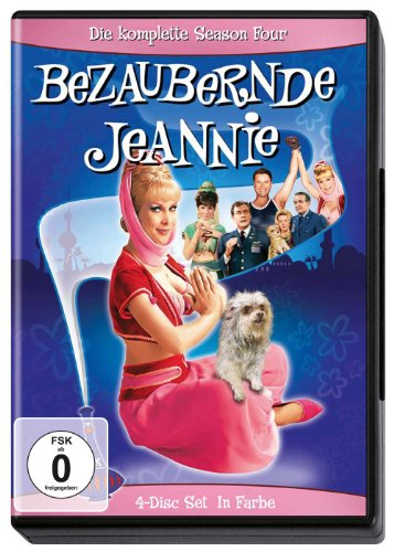 Bezaubernde Jeannie - Season 4 (4 DVDs)