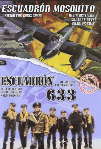Pack - Mosquito Squadron / 633 Squadron (Spain Import)