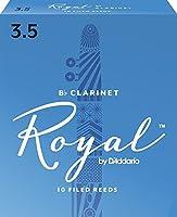CAムAS CLARINETE - Rico Royal By DエAddario (Caja Azul) (Dureza 3 ス) (Caja de 10 Unidades)