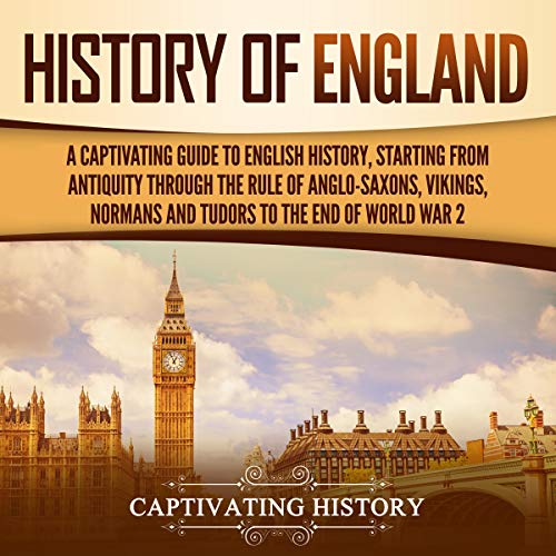 History of England cover art
