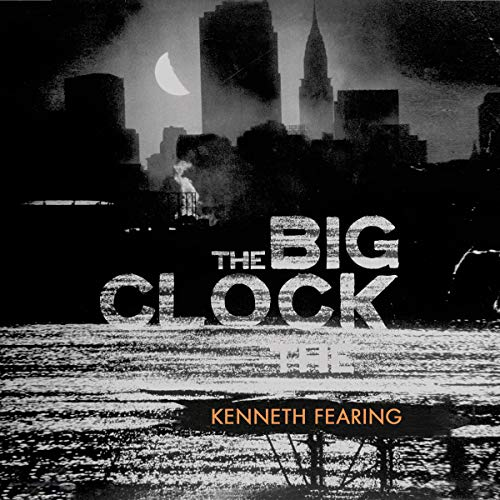 The Big Clock audiobook cover art