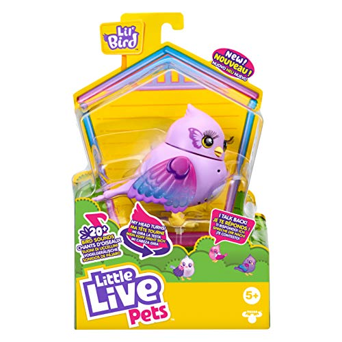 Little Live Pets Lil' Bird Tail-Flauta de Juguete (Moose Toys 26260)