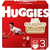 Huggies Little Snugglers Baby Diapers, Size 3, 62 Ct