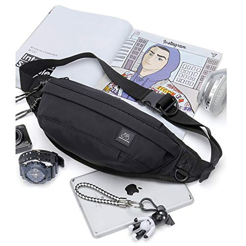 Waterproof Fanny Pack for Men & Women Running Waist Bag Pack with Adjustable Strap for Hiking Travel Running