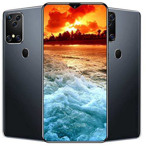 S20plus, Teléfono Inteligente Android Desbloqueado Con Pantalla De 7.0 Pulgadas, Sistema De Cámara Trasera De 24MP, 64GB + 4GB De RAM, Batería De 4800mAh, Huella Dactilar Trasera + Reconocimiento Fa