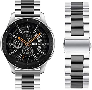 Metal Stainless Steel Strap Band for Samsung Galaxy Watch 46mm / Huawei GT2 / Gear S3 Frontier and Classic / Honor Magic 2...