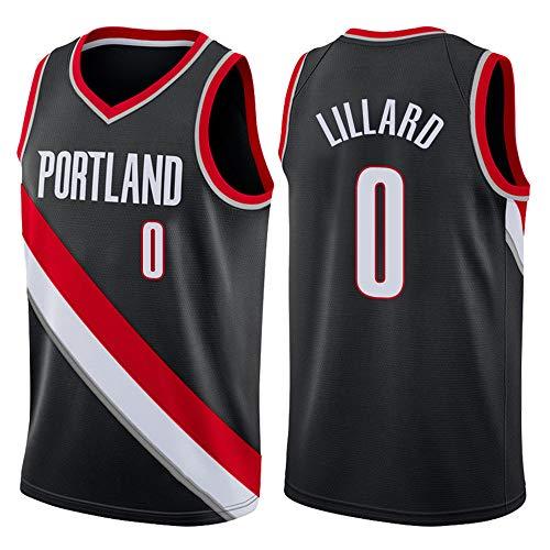 FILWS Basketball Jersey Lillard Herren Sport Stick Trikot Reguläre Saison Neue Saison Basketball Uniformen Unisex Schnelltrocknende Stoffe Fan Sportswear