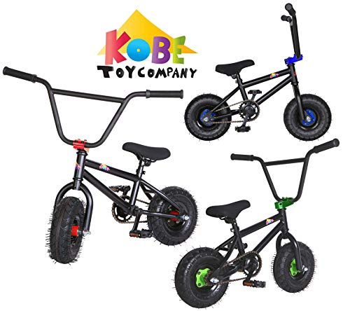 Kobe Mini BMX Bike - Pro Bicycle - Black/Red
