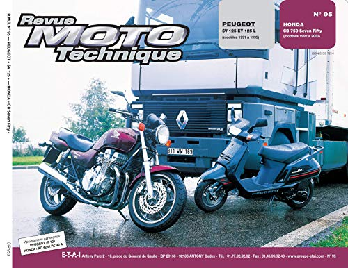 E.T.A.I - Revue Moto Technique 95.3 - PEUGEOT SCOOTER