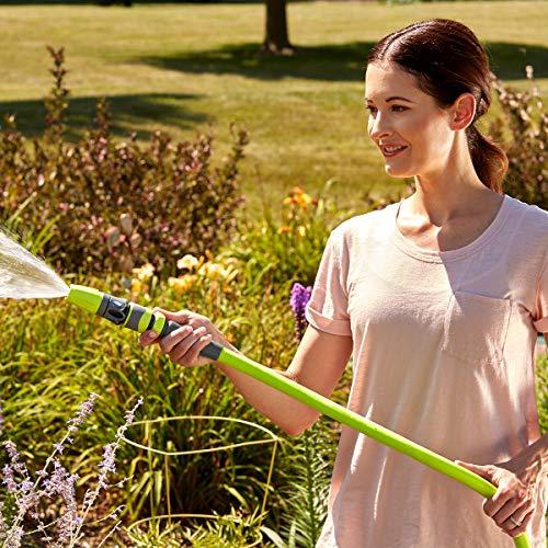 Flexzilla Garden Hose, 5/8 in. x 50 ft., Lightweight, Drinking Water Safe - HFZG550YW-E