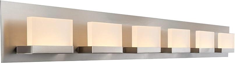 Amazon Com 48 Inch Vanity Light Brushed Nickel