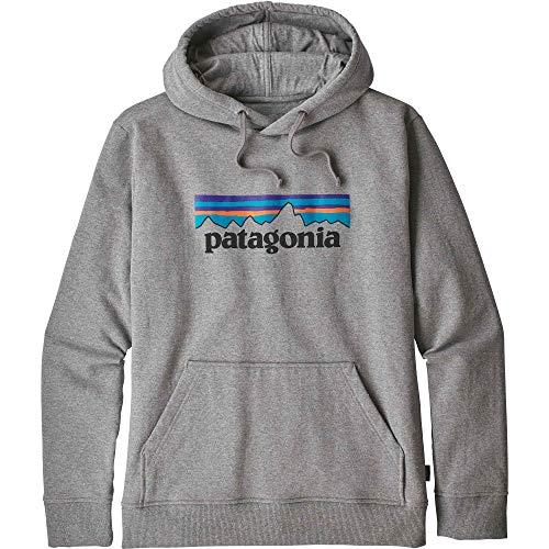 (パタゴニア)patagonia M's P-6 Logo Uprisal Hoody 39539 Gravel Heather (GLH) M