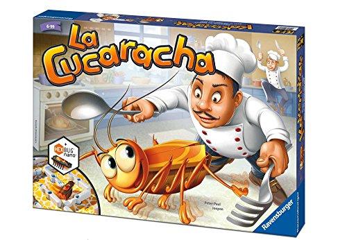 Ravensburger La Cucaracha, Juego de mesa, 2-4 jugadores, Edad recomendada 6+ (22228)
