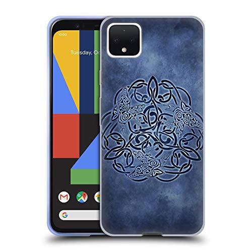 Head Case Designs Officially Licensed Brigid Ashwood Knot Raven Celtic Wisdom Soft Gel Case Compatible with Google Pixel 4 XL