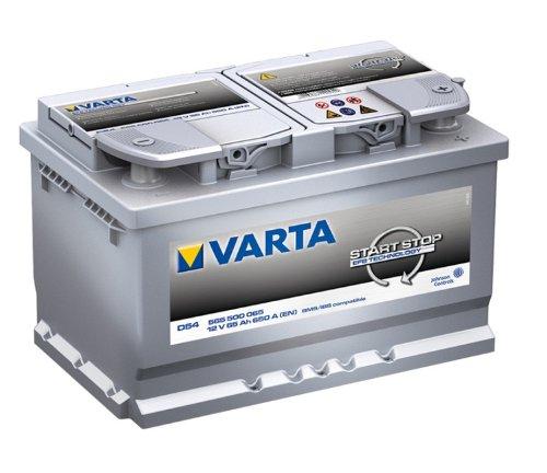 D54 Varta Bateria de coche de 65Ah