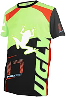comprar comparacion BurningBikewears Uglyfrog 2018 Downhill Jersey Manga Corta De Descenso Bicicleta De Verano Montañal Maillots Deportes y Ai...