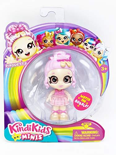 Kindi Kids Minis - Exclusive Mini Dolls - Pick from 6 Different Dolls (Pirouetta)