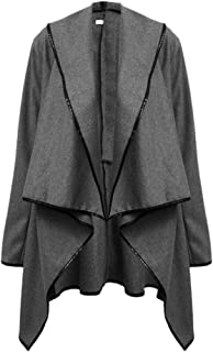 KINDOYO Women's Coat - Irregular Bow Sleeve Warm Jacket Coat Autumn Pullover Coat
