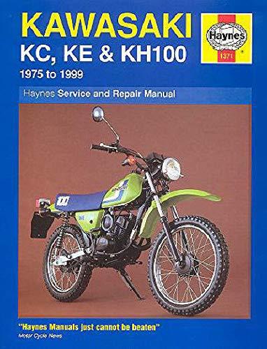 HAYNES REPAIR MANUAL 1371 Kawasaki KE 100 KE100 1975-1999