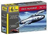 Heller - 80278 - Maquette - F-84G Thunderjet - Patrouille de France