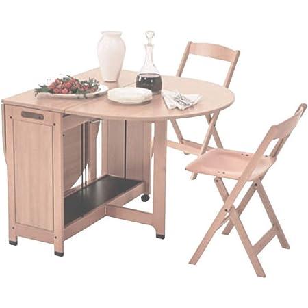 Foppapedretti Pitagora Tavolo Ovale Pieghevole In Legno Colore Naturale Cm 166x91 Amazon It Casa E Cucina