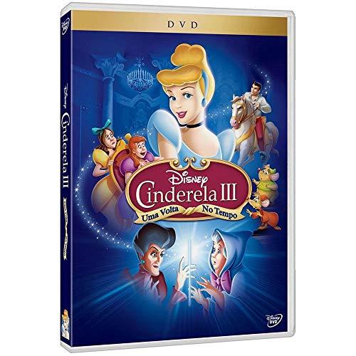 DVD Disney - Cinderela III - Uma Volta No Tempo