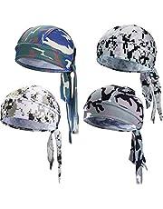 Gorra de Calavera con Capucha y Gorros Pirata de Secado Rápido para Hombres y Mujeres Favores