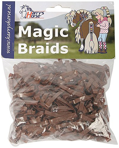 Harry's Horse Magic Braids, zak, Farbe:braun