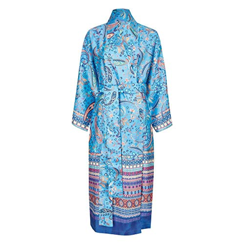 Bassetti Burano Kimono, Baumwolle, B1 Blau, S-M