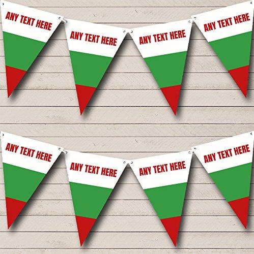 Partij Banner Bunting Bulgaarse Vlag Bulgarije Carnaval, Fete & Straat Large