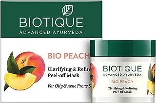 Biotique Bio Peach Clarifying & Refining Peel-Off Mask, 50 g