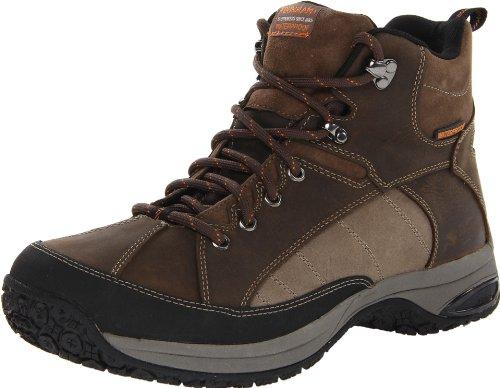 Dunham Men's Lawrence Waterproof Boot,Brown,14 4E US