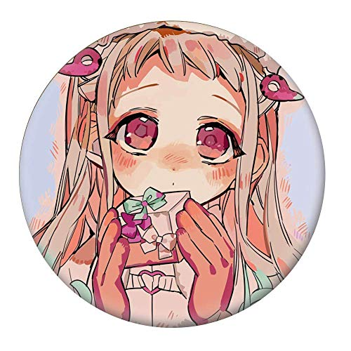 CAR-TOBBY Japon Animé Jibaku Shounen Hanako Kun Nene Yashiro Teru Minamoto Hanako Cosplay Bedge Bande-Dessinée Sacs Badge Bouton Broche Cadeau - H14, F