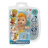 Cicciobello CICCIOBELLO-CC002C00 - Amicicci tierno bebé Rojo con pañal Colorido, minifigura con Accesorios, Multicolor, CC002C00
