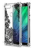 Oihxse Cristal Compatible con Huawei P20 Lite/Nova 3e Funda Transparente TPU Silicona Estuche Airbag...