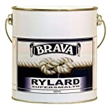 Brava Rylard Supersmalto per Nautica, Nero, 2500 ml...
