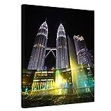 Bilderdepot24 Bild auf Leinwand   Petronas Zwillingstürme