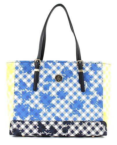 Tommy Hilfiger Honey Medium Tote Gingham Multi Mix
