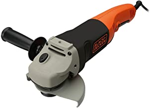 Black+Decker Haakse slijper (met 3-positie-extra handgreep, 1200 W, 125 mm, nulspanningsschakelaar, spindelvergrendeling, ...