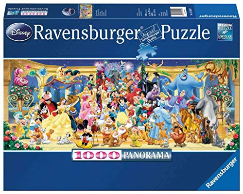 Ravensburger Personajes Disney - Puzzle Panorama