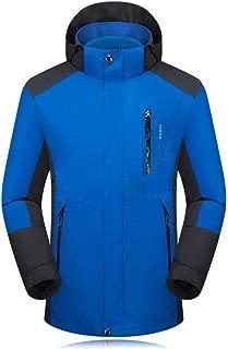 SDCVRE Combinaison de Ski Moutain Hommes Ski Ski-Wear Imperm/éable Randonn/ée Veste Ext/érieure Veste Snowboard Combinaison Ski Hommes Grande Taille Vestes De Neige Plus Taille