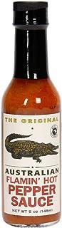"""The Original Australian - Flamin"""" Hot Pepper Sauce - 148 ml"""